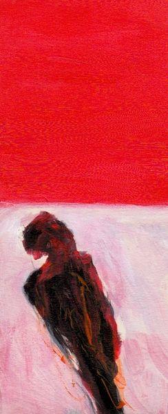 Blut, Rot, Wahn, Psyche, Malerei, Mond