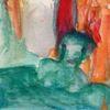 Rot, Figural, Menschen, Malerei