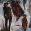 Malerei, Nacht, Menschen