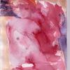 Rot, Surreal, Figural, Aquarell