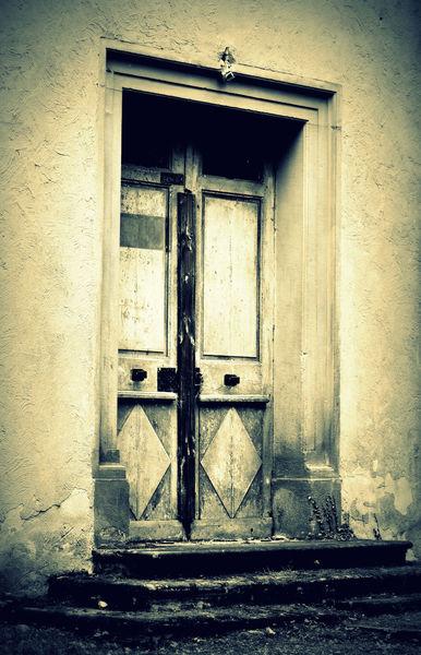 Alt, Tür architektur, Verwittert, Fotografie