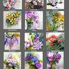 Blumenkalender2017, Blumen, Kalender, Pinnwand