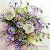 Blumenstrauß, Strauß, Rose, Blumen