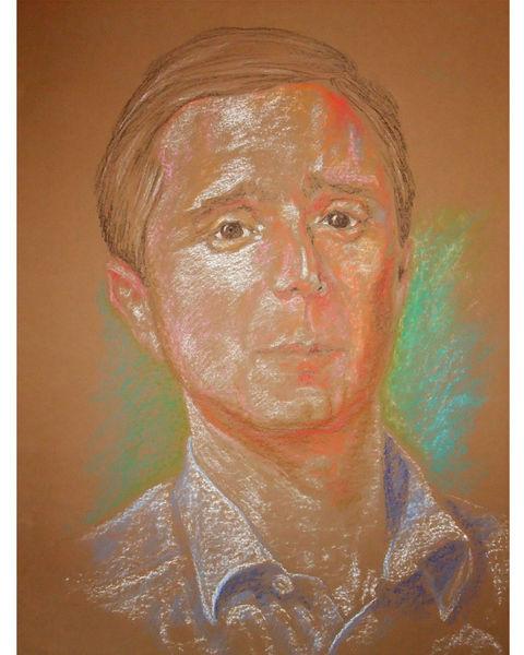 Zeichnung, Portrait, Figural, Zeichnungen,