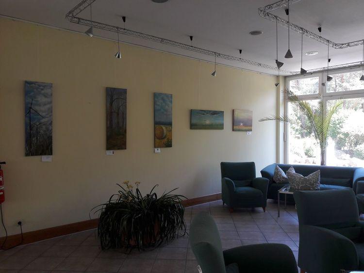 Verbissage, Templin, Ausstellung, Pinnwand