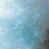 Nacht, Schwimmbad, Blau, Malerei