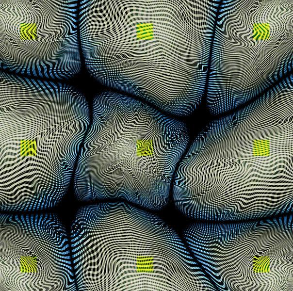 Formen, Blau, Unfolding, Energie, Geometrie, Linie