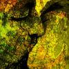 Abstrakt, Traum, Profil, Aquarellmalerei