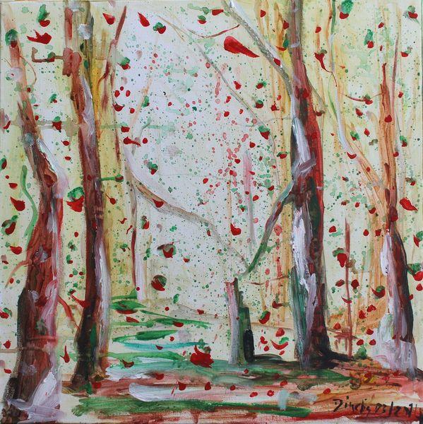 Natur, Landschaft, Malerei,