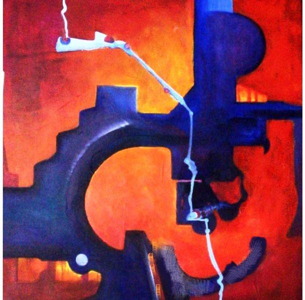Bunt, Bewegung, Formen, Malerei, Abstrakt