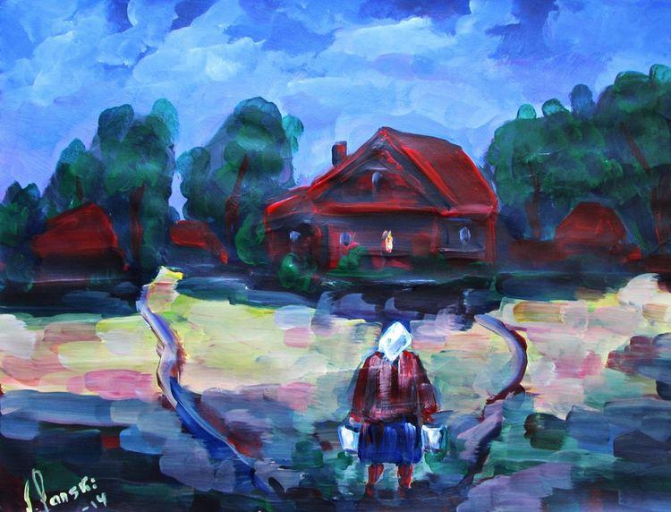 Malerei, Abend