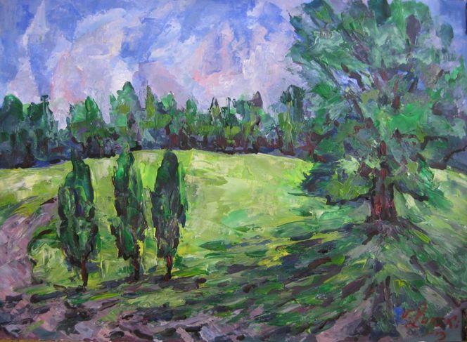 Malerei, Juni