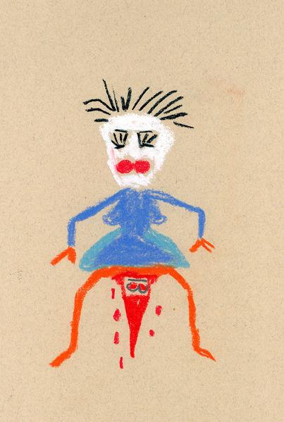 Humor, Zeichnung, Pastellmalerei, Märchen, Zeichnungen