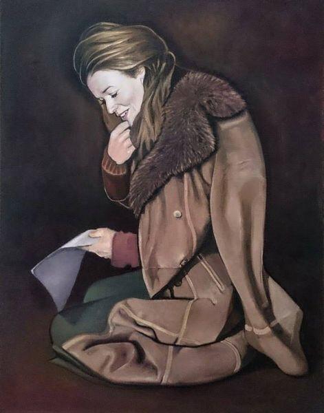 Weiblich, Portrait, Workinprogress, Model, Contemporaryart, Curdstimmeder