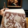 Museum, Kleopatra, Sterbendecleopatra, Skizze