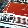 Chevrolet, Linoldruck, Auto, Oldtimer
