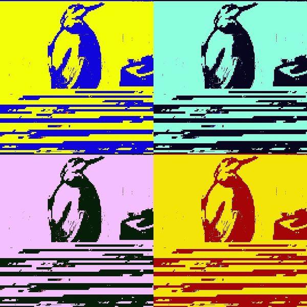 Digital, Vogel, Pop, Digitale kunst,