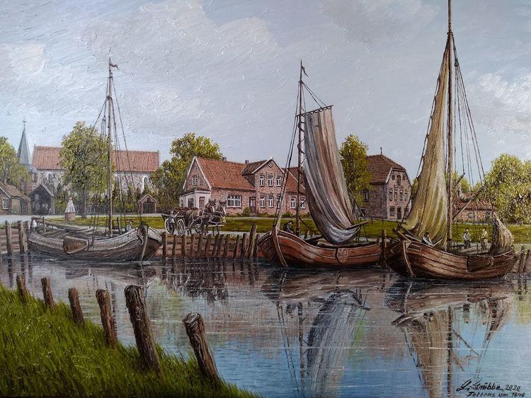 Wasser, Turm, Schiff, Fischer, Hafen, Menschen