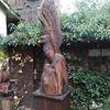 Vogel, Holz, Skulptur, Plastik