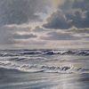Strand, Sonnenlicht, Nordsee, Ostfriesland