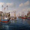 Hafen, Kutter, Meer, Ostfriesland
