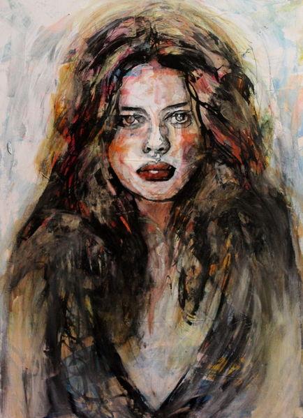 Portrait, Menschen, Ausdruck, Frau, Haare, Gesicht