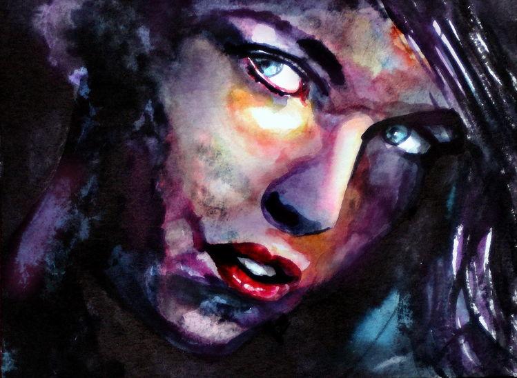 Ausdruck, Frau, Portrait, Menschen, Blick, Gesicht