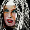 Blick, Portrait, Haare, Frau