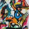 Comic, Farben, Expressionismus, Skurril