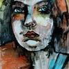 Portrait, Blick, Ausdruck, Menschen