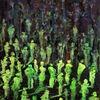 Abstrakt, Acrylmalerei, Menschen, Figurativ