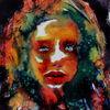 Menschen, Farben, Figurativ, Gesicht