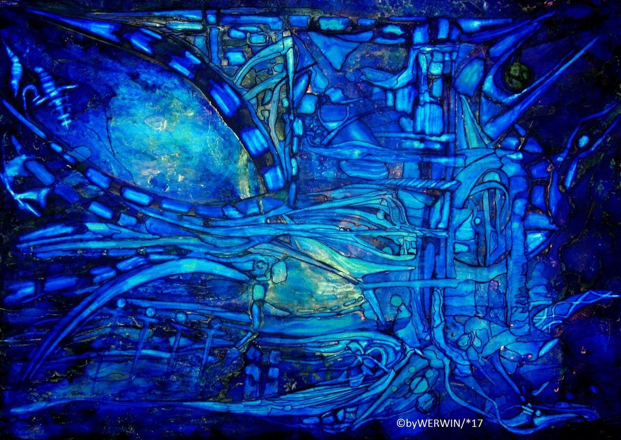 In Blau versunken - Blau, Unsichtbar, Wasser, Fisch von WERWIN bei ...