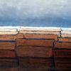 Blau, Abstrakt, Landschaft, Braun