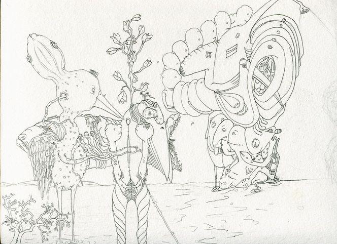 Zeichnungen, Ufer