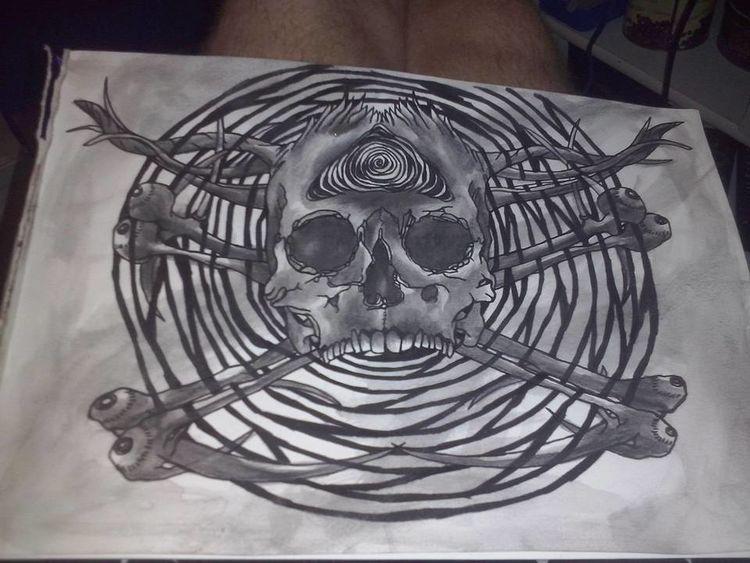 Zeichnungen, Knie