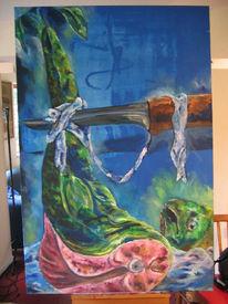 Fisch, Kreuzigung, Passion, Malerei