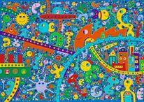 Hoffnung, Malerei, Kinder, Umwelt