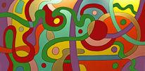 Malerei, Bunt, Gemälde, Hoffnung