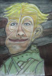 Portrait, Mann, Gesicht, Berlin