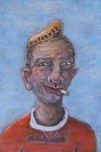 Kronkorken, Typ, Bier, Portrait