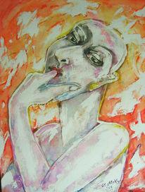 Geschmack, Aquarellmalerei, Stern, Explosion