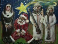 Weihnachtsmann, Weihnachten, Stern, Heiliger krieg
