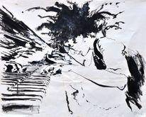 Jazz, Malerei, Musik, Frau