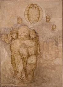 Ikonologische forschung, Thomas hobbes, Zeichnungen,