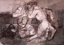 Grimm, Tiere, Zeichnung, Zeichnungen