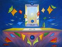 Abstrakt, Bunt, Symbolismus, Surrealistisch