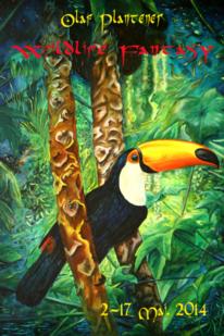 Phantastischer realismus, Ausstellung, Vogel, Portrait