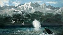 Wal, Küste, Tiere, Vogel