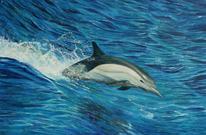 Tierwelt, Meer, Tiermalerei, Nass